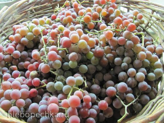 Виноградный джем без сахара или густой пекмез