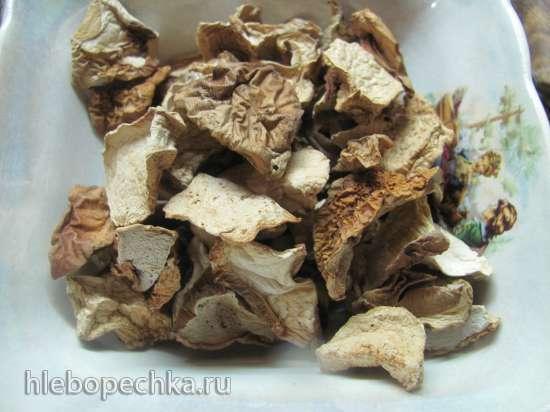 Зразы картофельно-крахмальные с грибами и кус-кусом (постные)