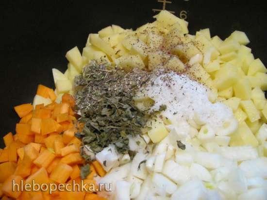 Картофельный суп-пюре в мультиварке  DEX-60