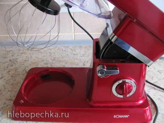 Лавандовый рулет с желейной прослойкой (кухонный процессор Bomann KM 398 CB)