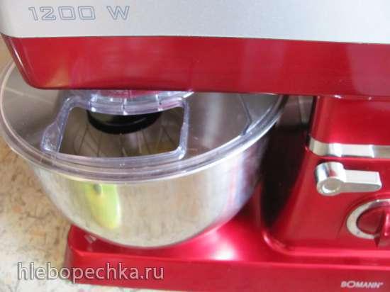 Пляцок «Вишневая фантазия»  (кухонный процессор Bomann KM 398 CB)