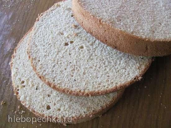 Торт безглютеновый бисквитный «Эрл Грэй»