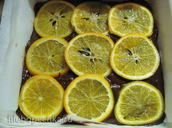 Брауни с апельсином