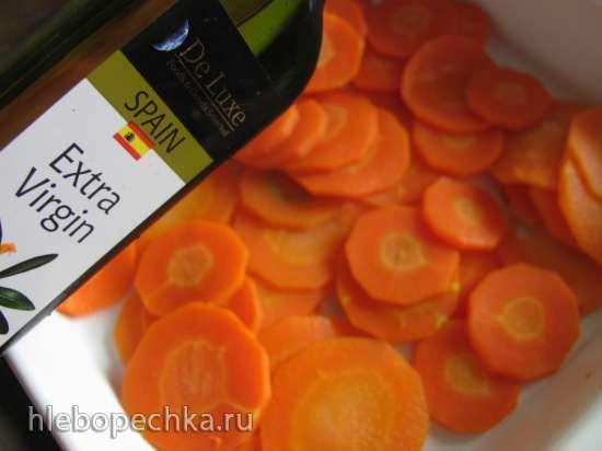 Красноглазка, запеченная с морковью
