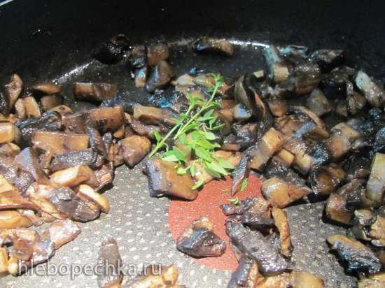 Клафути с грибами