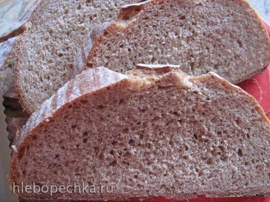 Хлеб пшенично-ржаной (50:50)<br>на холодной опаре