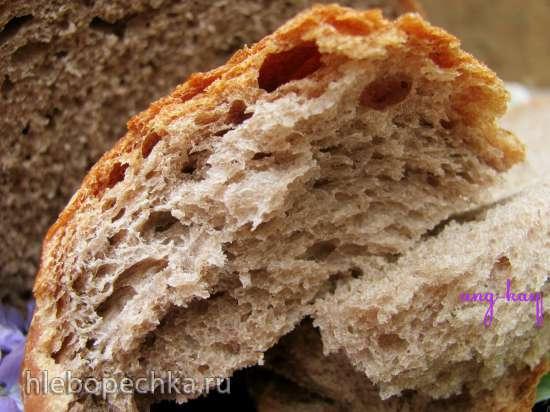 Хлеб пшеничный с шелковицей