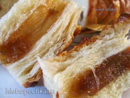 Пирог с начинкой ажурный