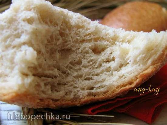 Хлеб пшенично-ржаной на закваске (холодное брожение)