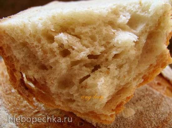 Хлеб на закваске сливочно-медовый