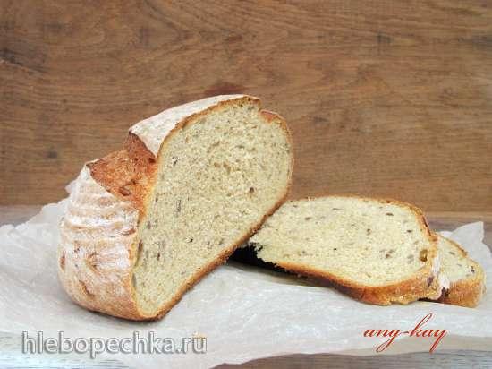 Хлеб «Деревенский» с кукурузной мукой