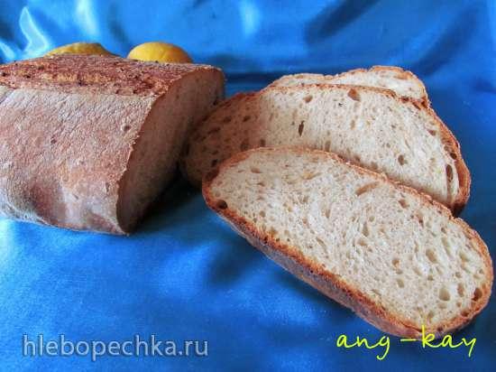 Хлеб заварной на лимонных дрожжах