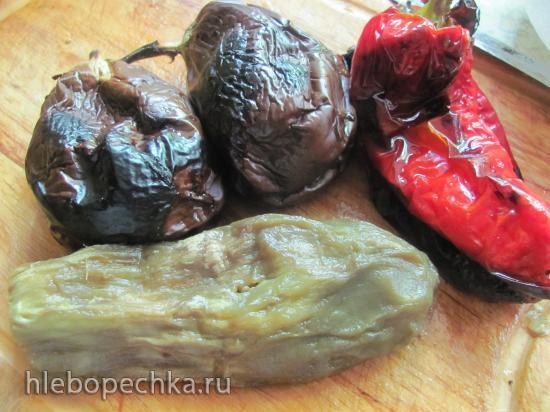 Салат из запеченных овощей Мангал усту