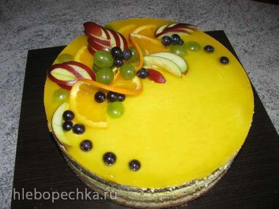 Торт апельсиновый Lambada