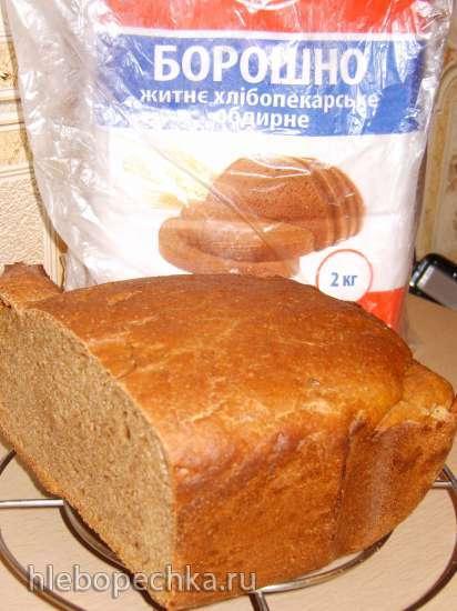 Ржаной хлеб в Panasonic SD-254, 256, 2500