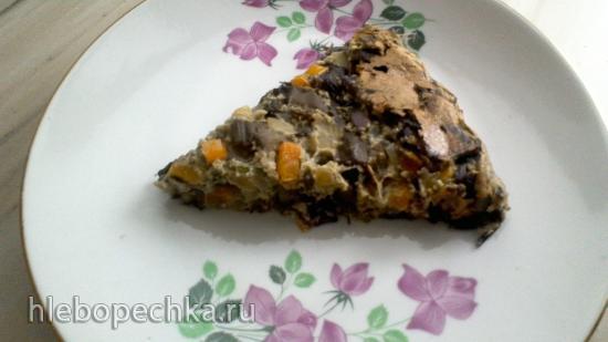 Грибной пирог без теста
