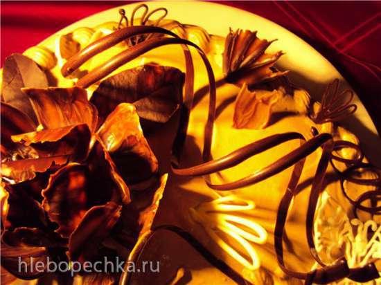 Шоколадные спиральки