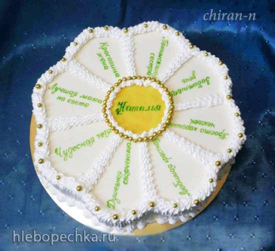 Торт для женщины на 75 лет фото 15
