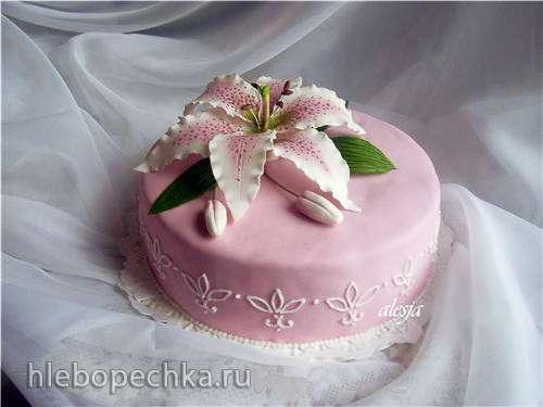 Лилия торт рецепт с фото