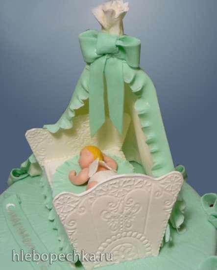 Торты, украшенные мастикой и марципаном (1)