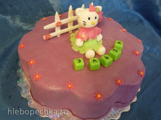 Торты по мотиву мультфильма Hello Kitty
