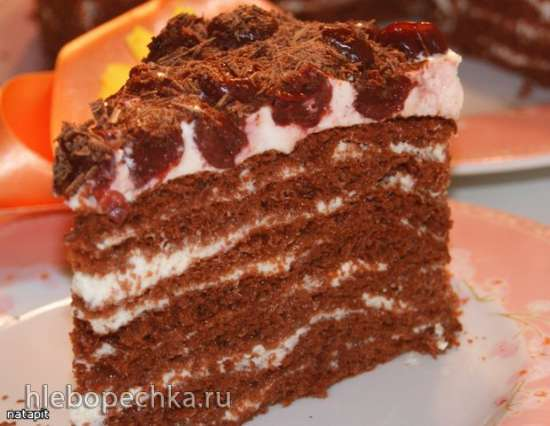 Торт «Шоколадно-молочная девочка»