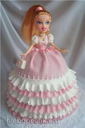 Куклы (торты)
