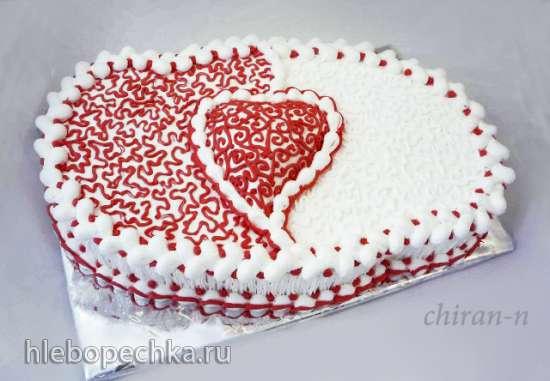 Торт большой с ягодами фото 4