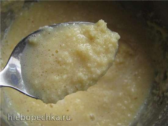 Крем масляный на молоке и яйцах (Шарлотт)
