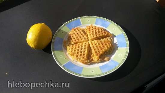 Вафли картофельные и кабачковые в вафельнице Jardeko