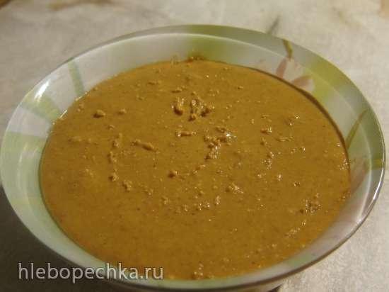 Домашняя арахисовая паста (Homemade peanut butter)