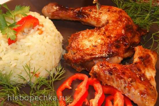 Цыплёнок  в корейском стиле
