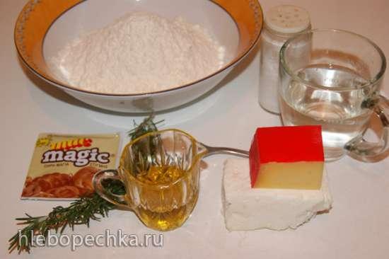 Греческий сырный хлеб