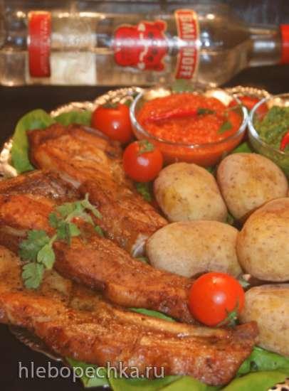 Мясо для горячих мужчин или 50 оттенков и.....