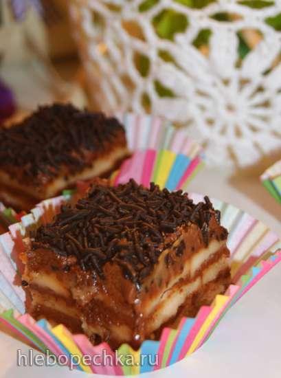 Пирожное на скорую руку или десерт без выпечки