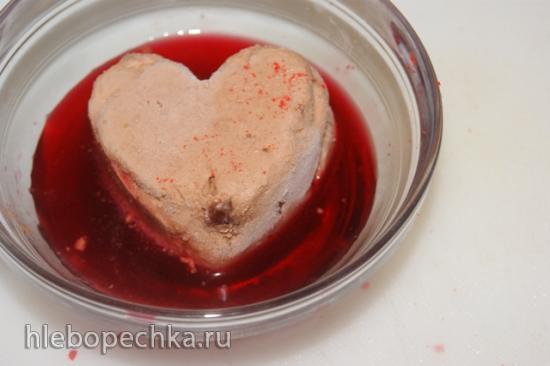 Пирожное Бархатное сердце