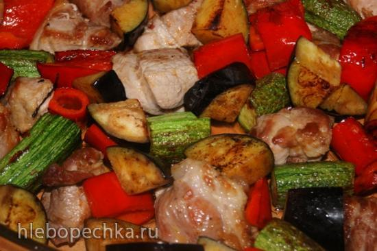 Мясо в греческом стиле
