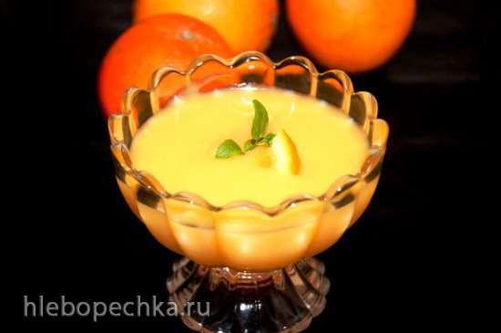 Апельсиновый крем-курд с ароматом бергамота