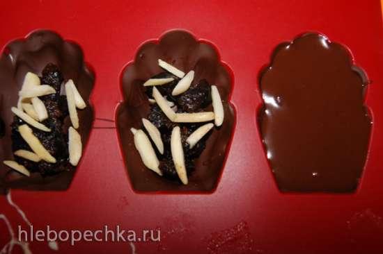 Шоколадные конфеты Мадлен