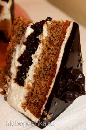 """Торт """"Чернослив в шоколаде №2"""""""