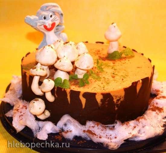 Торт «Карамель в шоколаде»