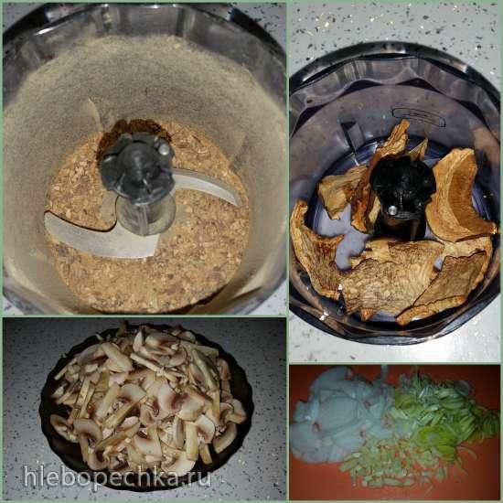 Суп-пюре Три гриба