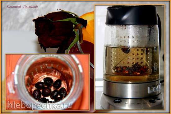 Чай Секреты Санты (чайник Tefal BJ 700D)