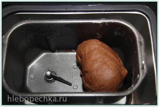 Кулич Шоколадный на опаре