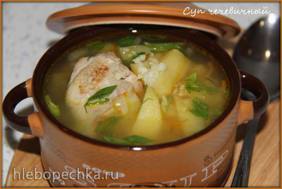 Суп чечевичный (мультиварка-скороварка Brand 6051)