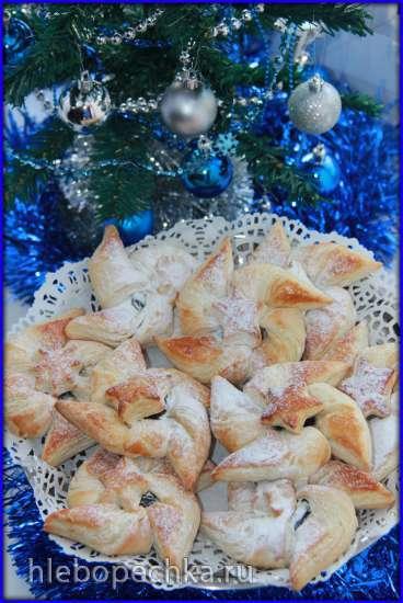 """Йоулутортту (фин. Joulutorttu) - финская рождественская звезда с """"пьяным"""" черносливом"""