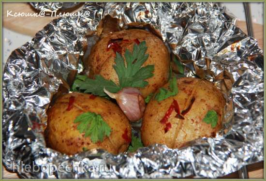 Картофель Пикантный (запеченный в аэрогриле Brand 35128)