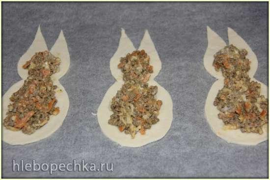 Пирожки «Пасхальные зайцы»
