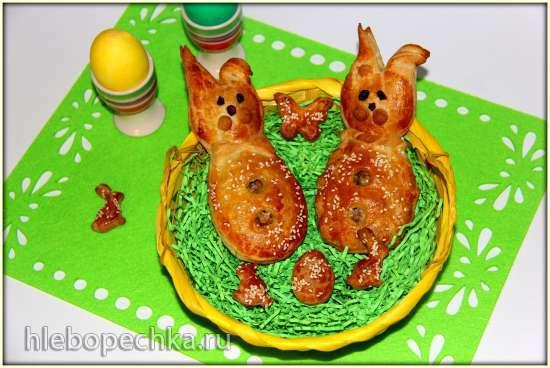 Пирожки Пасхальные зайцы