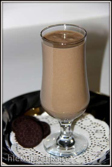Коктейль молочный с печеньем Oreo – псевдошоколадный